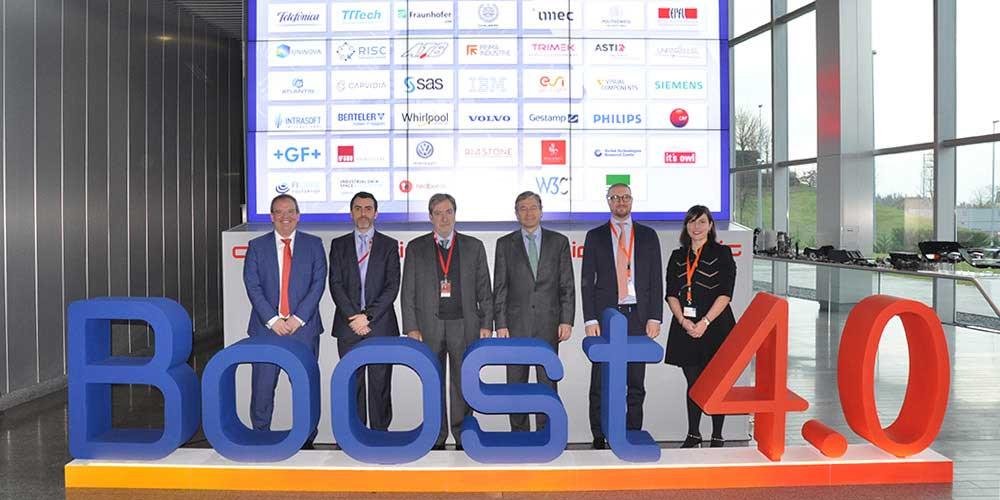Innovalia lidera el proyecto BOOST4.0, una iniciativa de 20 M para mejorar la competitividad del sector automoción a través del Big Data.