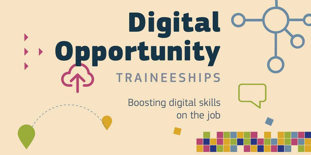 Internship scheme to strengthen the digital skills of the European workforce