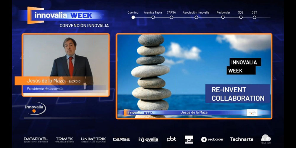 The Innovalia Group closed the 1st Innovalia Week with the celebration of the 18th Innovalia Convention, this time in a virtual format